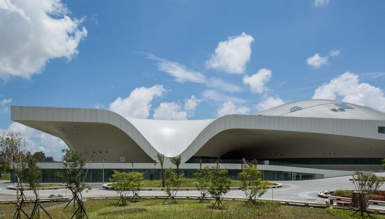 Una città coperta di metallo, Centro d'arte a Kaohsiung Taiwan