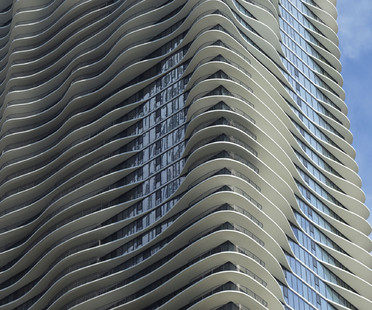 L'Aqua Tower di Studio Gang a Chicago