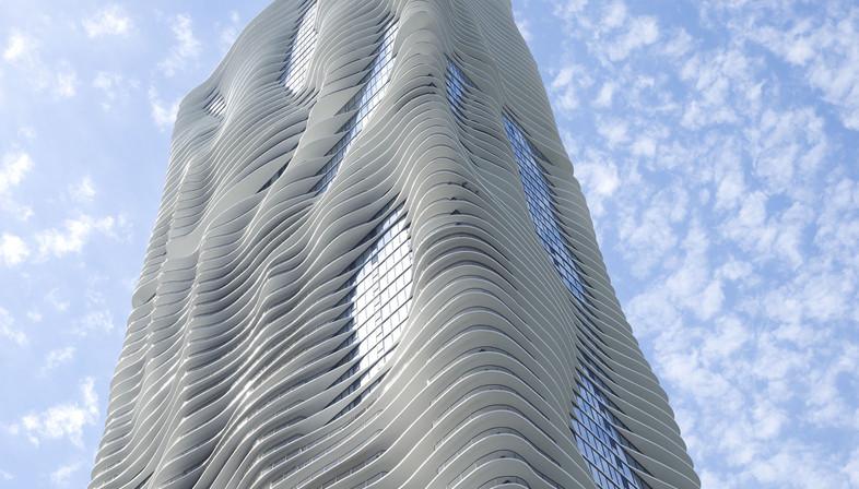 L'Aqua Tower di Studio Gang a Chicago