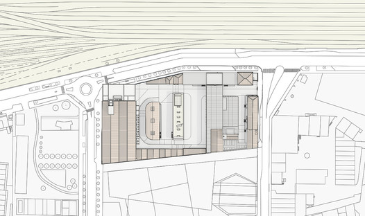 Master plan della Fondazione Prada di Milano di OMA Rem Koolhaas