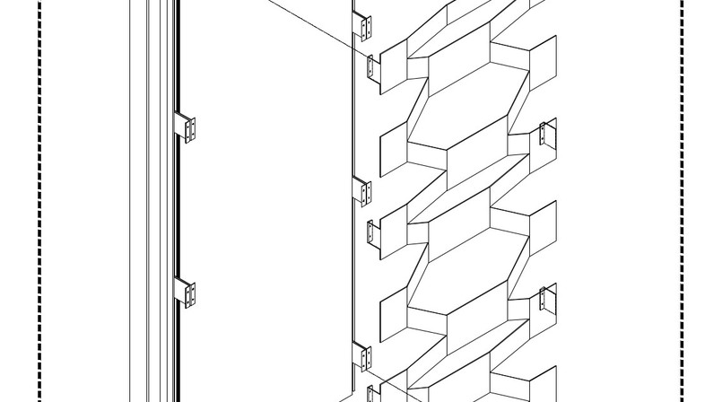 Schermatura in alluminio per la facciata della Torre di Fuksas a Torino