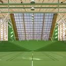 Campo sportivo con copertura in policarbonato, di Dorte Mandrup