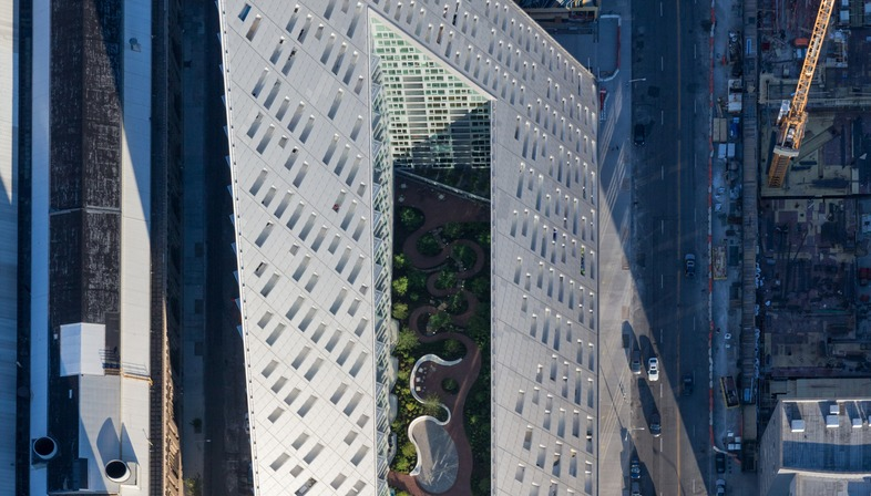 Il Courtscraper W57 di Bjarkeingels architect a Manhattan