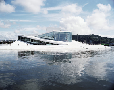 Marmo italiano per l'Opera ballet norvegese di Snøhetta