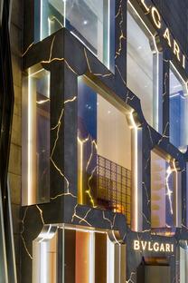 Il Bulgari shop di Kuala Lumpur, GRC e LED di MVRDV