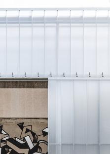 Ristrutturato un capannone da Effekt Architects per adattalo agli sport di strada