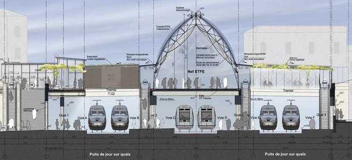 L'ampliamento della Stazione di Montpellier di AREP in ETFE