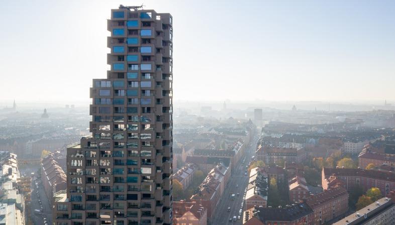 Una Torre di cemento a Stoccolma di OMA