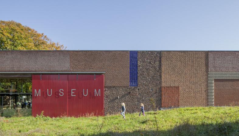 Mattoni, rame e legno per l'Open air museum di Mecanoo