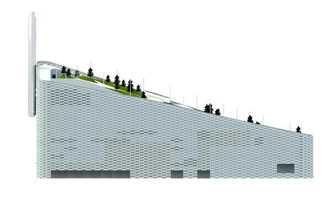 Filosofia green per l'Amager Resource Center il termovalorizzatore di BIG