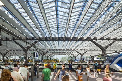 Vetro, alluminio, cemento e legno per la Centraal Station di Rotterdam