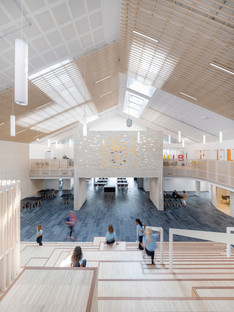 Una scuola in legno di CF Møller