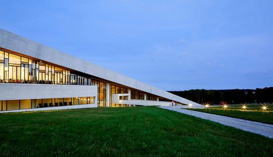 Il Moesgaard museum in cemento di Hennign&Larsen