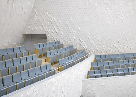 Il Fuzhou Strait Culture and Arts Center in ceramica tecnica di PES ARK
