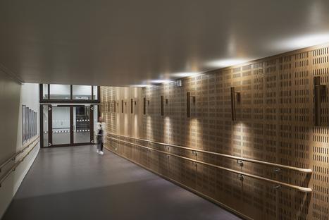 La Wiedemannsalen di Snøhetta in acciaio inox