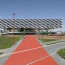 Travi vierendeel per l'adidas arena di Behnisch Architekten.
