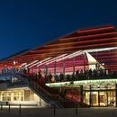 Il Flekkefjord Cultural center in legno e cemento armato
