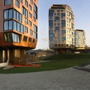 Torri in cemento, legno e alluminio di Helen & Hard Architects