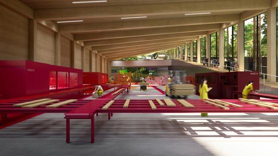 Fabbrica green The Plus per i mobili urbani Vestre di BIG