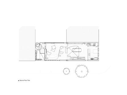 Un'architettura con facciata in zinco di Young Projects a New York