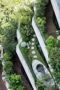 La foresta verticale ad assorbimento di carbonio di Vincent Callebaut