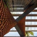 La Pirouette house in mattoni di Wallmakers architects
