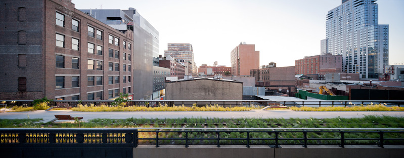 Wildflower Fields Falcone Flyover ©Iwan Baan/Courtesy of the High Line