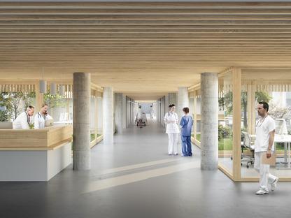 © Herzog&De Meuron | New North Zealand Hospital, Denmark