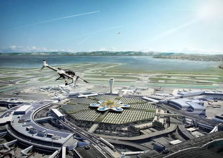 Optimizing intermodality, San Francisco Airport, MVRDV