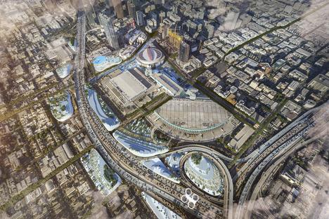 Integrating into comprehensive urban proposals, Los-Angeles, MVRDV
