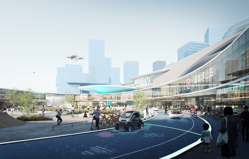 Integrating into TOD developments, Shenzhen, MVRDV