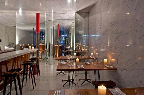 Le Dauphin, Parigi. Clément Blanchet con Rem Koolhaas