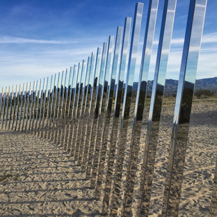 Phillip K. Smith III, The Circle of Land and Sky.