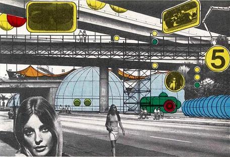 Archigram's Collage, Architectural Design. 1969 / Archivi