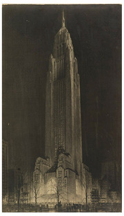 Proposed Tower in Madison Square, Hugh Ferriss